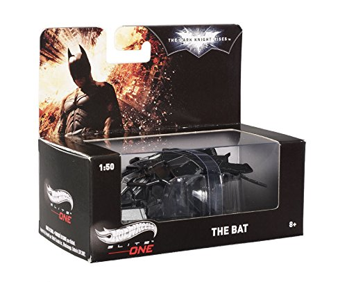 Hot wheels Batman Dark Knight Rises The Bat Plane Elite 1/50 Model by Hotwheels