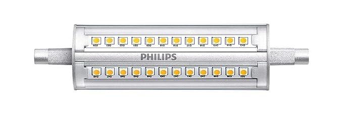 Bombilla LED R7S Regulable CorePro 118mm 14W Blanco Cálido 3000K efectoLED
