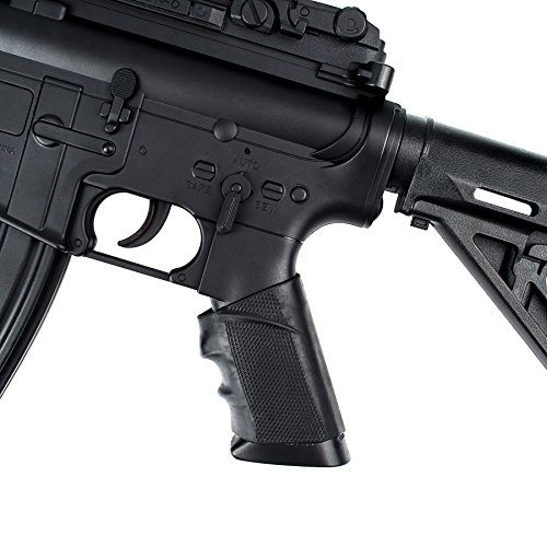 Tactical-Rubber-Pistol-Rifle-Grip-Slip-On-Cover-Sleeve-Fits-AR15-M4-AK-47-SIG-Sauer-SW-CZ-P09-Glock