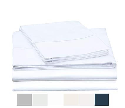3448a380fc3 Amazon.com: ONE PARK LINENS Organic Cotton Sheet Set GOTS Certified ...