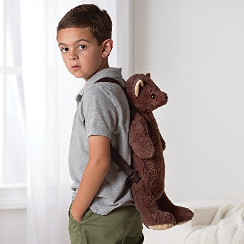 Vermont Teddy Bear - Plush Backpack for Kids, Brown, 19 inches -