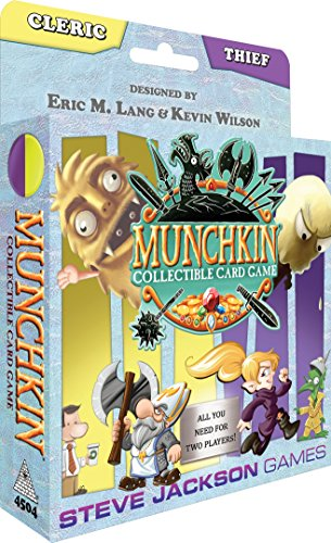 Steve Jackson Games Munchkin CCG: Cleric and Thief Starter