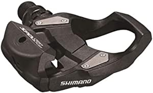 SHIMANO Unisex – Adult's PD-RS500 SPD-SL Road Bike Pedal Black
