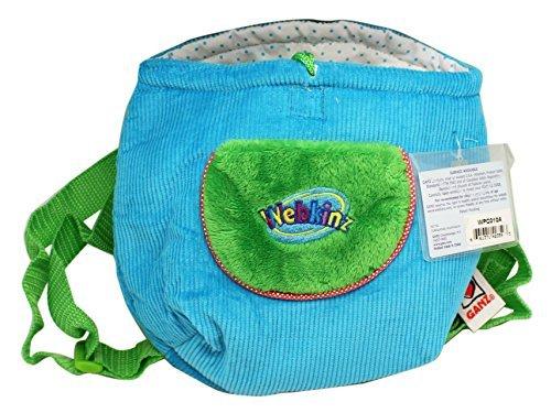 (Webkinz Collectible Plush Blue Knapsack by Webkinz)