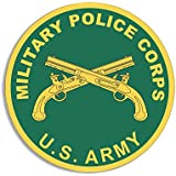 Round US Military Police Corps Seal Sticker (army mp logo)