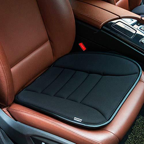 Palewell Car Seat Cushion Non-Slip Mat, Car Seat Covers for Auto Car Supply, Memory Foam Seat Cushion, Office Chair Cushion
