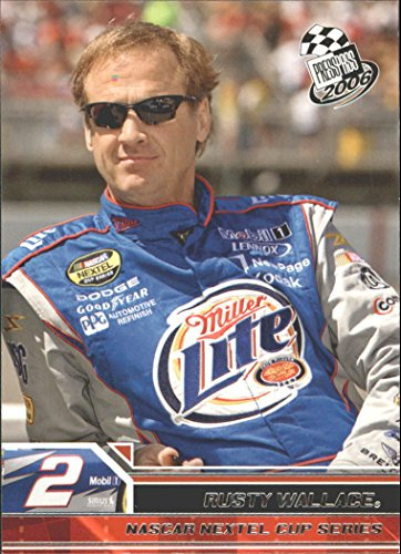 2006 Press Pass #4 Rusty Wallace (Rusty Wallace Card)