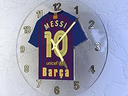 UEFA CHAMPIONS LEAGUE - fútbol KIT relojes de pared equipos - cualquier nombre, cualquier número