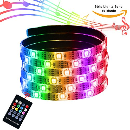 XYOP USB Powered RGB/LED Music Sync Strip Rope Lights