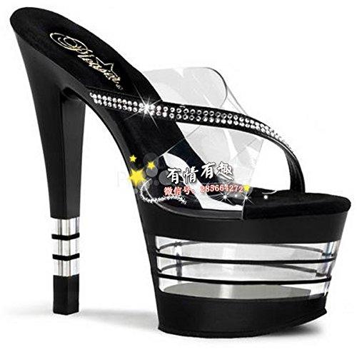 16 cm high heels schuhe cosplay schuhe zu fringe crystal schuhe pantoffeln schuhe crystal - 420c3b