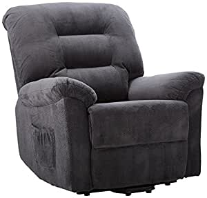 Coaster Home Furnishings Coaster 600398 Power Lift Recliner, CHARCOAL
