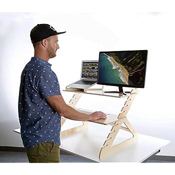 Amazon Com Readydesk 2 Adjustable Standing Desk