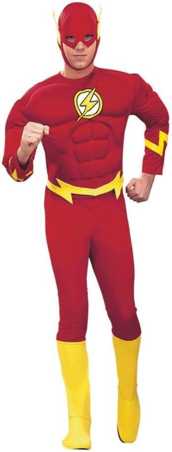 Rubbies - Disfraz de Halloween Flash Forzudo para hombre, talla M ...