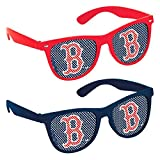 "Baseball Dream Boston Red Sox Printed Glasses Favour, Plastic, 2"" x 6"" x 5"""