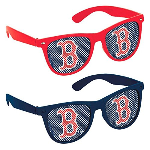 Baseball Dream Boston Red Sox Printed Glasses Favour, Plastic, 2