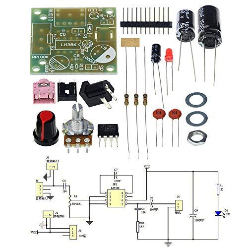 LM386 Amplificador Module Board 3-12V M386 Super Mini Audio Amplifier DIY Kit
