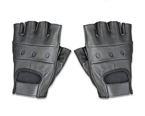 Raider Leather Fingerless Men's