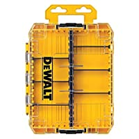 Deals on DEWALT Tool Box, Tough Case, Medium DWAN2190