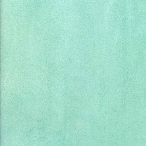 Mint Plush Changing Pad Cover