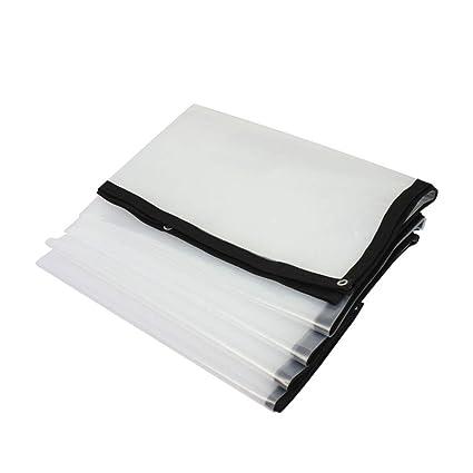 BU Lona- Cubierta Exterior Impermeable Impermeabilizante Protector Solar Cortina A Prueba De Viento Resistente Al
