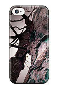 High Quality ZippyDoritEduard Strange Tree Skin Case Cover Specially Designed For Iphone - 4/4s