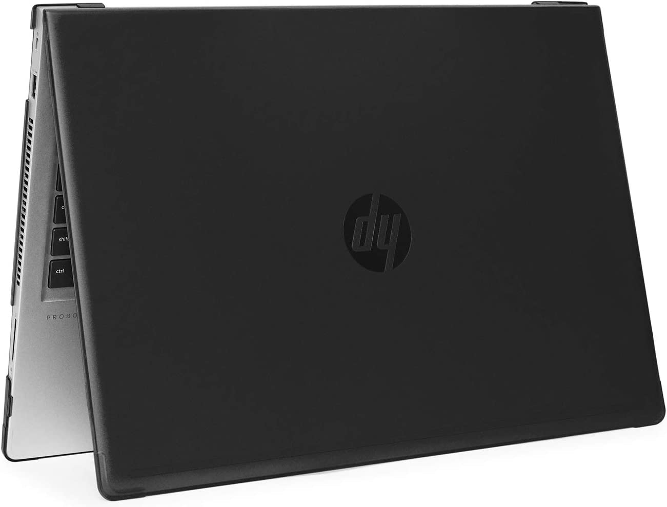 """mCover Hard Shell Case for 2019 15.6"""" HP ProBook 450/455 G6 Series (NOT Compatible with Older HP ProBook 450/455 G1 / G2 / G3 / G4 / G5 Series) Notebook PC (PB450-G6 Black)"""