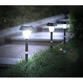 hyperikon led solar pathway lights generation ii waterproof outdoor solar lights for walkways landscape
