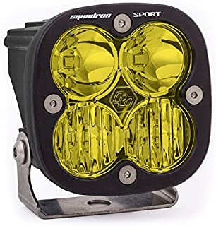 product image for Baja Designs 550013 LED Light Pod (Driving/Combo Pattern Amber Black Squadron Sport), 1 Pack