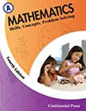 Mathematics: Skills, Concepts, Problem Solving, Continental Press Staff, 0845458574