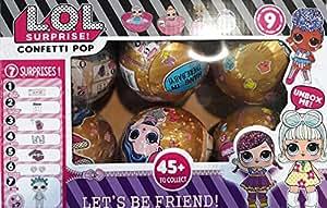 Lol Dolls Lets be friends (Golden) - Pack of 6