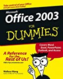 Microsoft Office 2003 for Dummies®, Wallace Wang, 0764538608