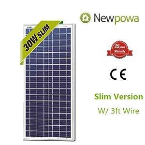 30w-Watts-Newpowa-High-Quality-12v-Poly-Solar-Panel-Module-Rv-Marine-Boat-Off-Grid