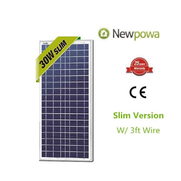 30w-Watts-Newpowa-High-Quality-12v-Poly-Solar-Panel-Module-Rv-Marine-Boat-Off-Grid