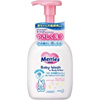 Merries Baby Wash, Body and Hair, 400ml