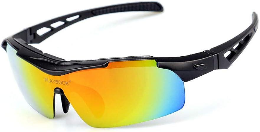 MELLRO Gafas de Sol de Ciclismo Gafas de Sol polarizadas al Aire Libre Ciclismo Deportes Gafas Trajes para Hombre y Mujer: Amazon.es: Hogar
