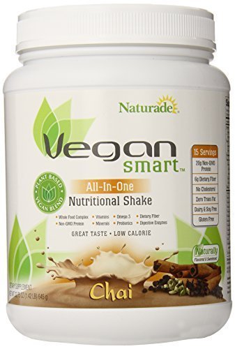 Naturade Vegansmart All-in-One Nutritional Shake, Chai, 22.75 Ounce by Naturade