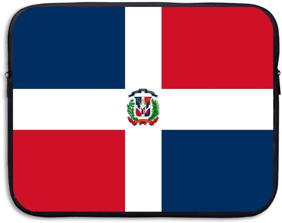 Yongchuang Feng Flag of The Dominican Republic Sleeve Laptop Bag Tablet Case Handbag Notebook Messenger Bag for Ipad Air MacBook Pro Computer Ultrabook 13-15 Inches