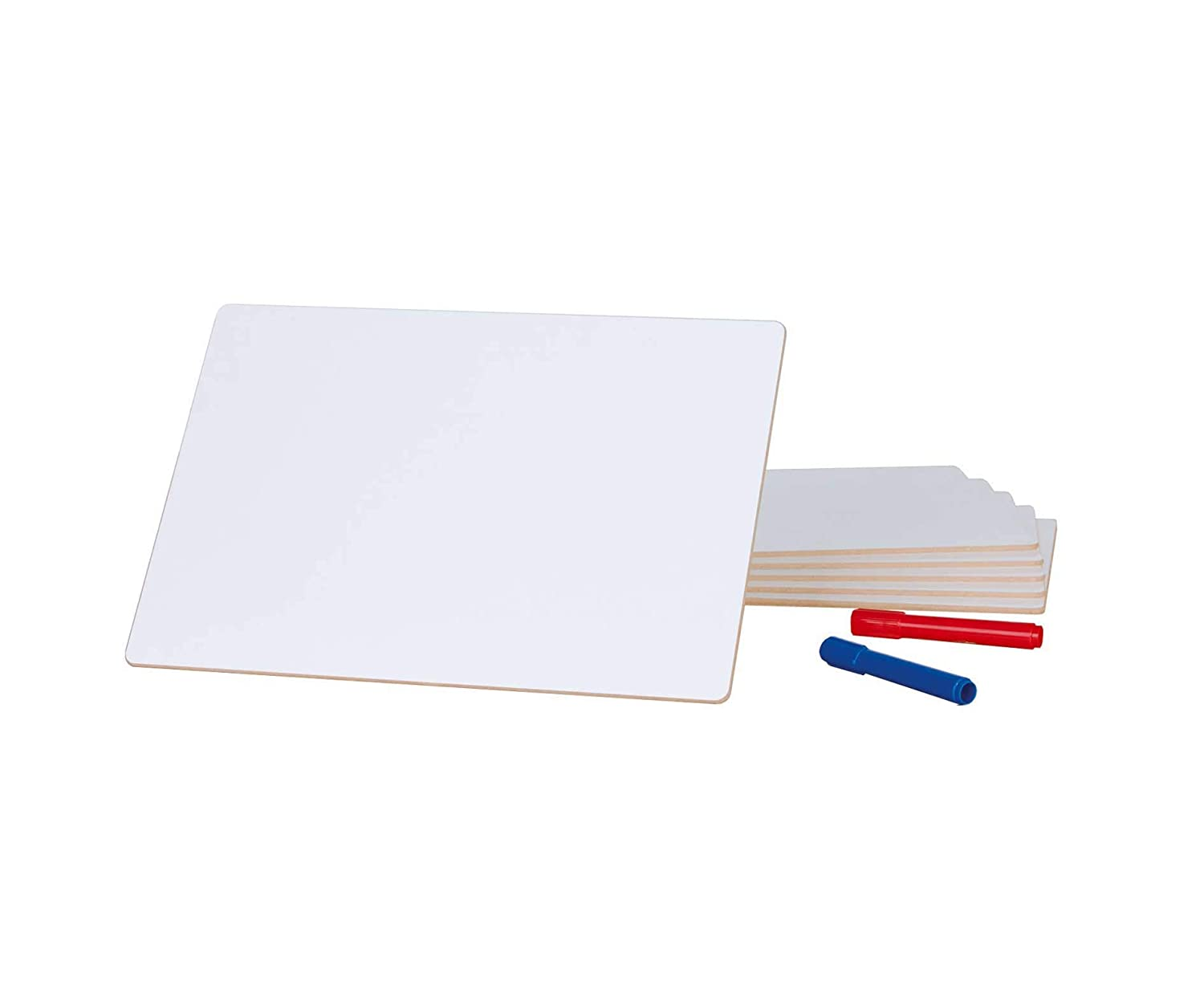 Pack of 6 Laptop Whiteboards A4
