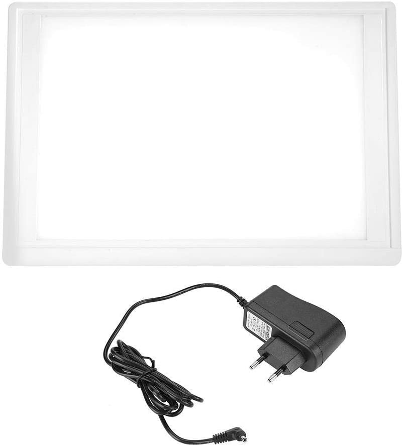 Tarente Plug AC110-220V UE película Dental Visor Ver Viewbox Box LED con el Soporte del Chip de la Abrazadera