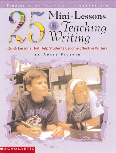 25-mini-lessons-for-teaching-writing-grades-3-6