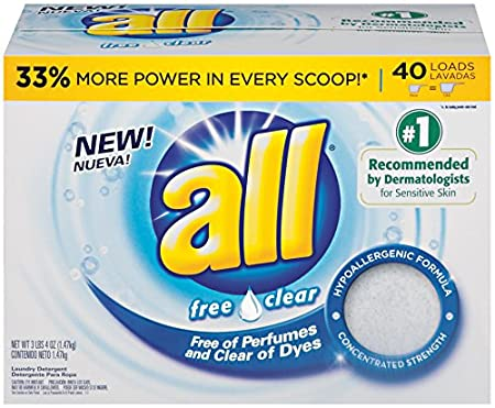 all Powder Laundry Detergent, Stainlifter, 52 Ounces, 40 Loads 10072613456915