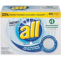 all Powder Laundry Detergent 52-Ozs. 40 Loads