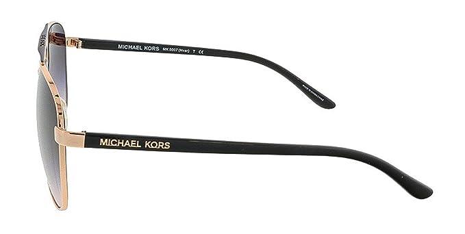 Amazon.com: anteojos de sol Michael Kors Hvar mk5007 Rose ...