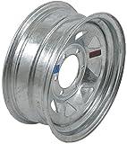 2-Pk Americana Trailer Wheel Galvanized Rim 16 x 6 Spoke (6 Lug On 5.5'') 4.25''CB