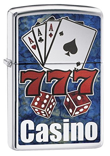 - Zippo Fusion Casino Pocket Lighter
