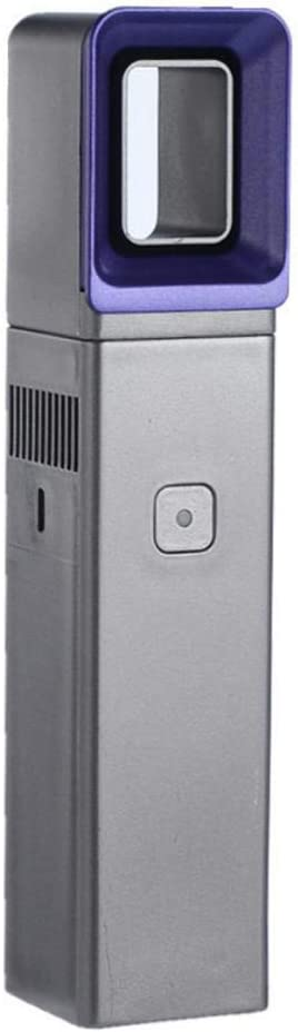Chifans Mini ventilador cuadrado USB sin hoja de mano tres velocidades ajustable pequeño ventilador 7.16 1.57 pulgadas