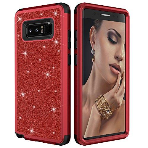 Galaxy Note 8 Case, Dooge Luxury Glitter Sparkle Bling Heavy