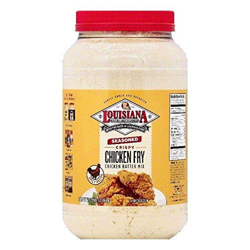 LOUISIANA Fish Fry Products Seasoned Chicken Fry 1 Gallon (5.25 lbs)