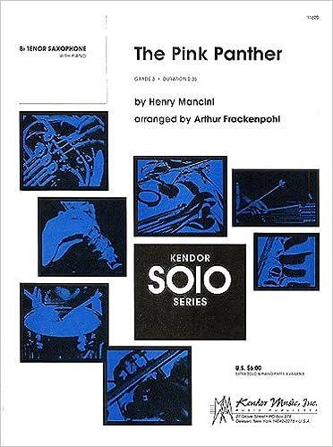 Henry Mancini: The Pink Panther (B-Flat Tenor Saxophone)  Sheet