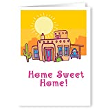 Personalized Home Sweet Home New Address Card Pack - 24 Custom Moving Card Announcements (Western)